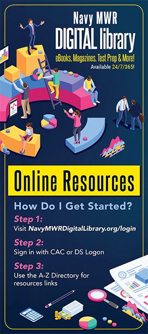 Navy MWR Digital Library Info Card Image