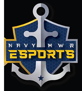 Navy MWR Esports Logo