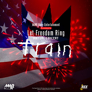 Navy Entertainment Let Freedom Ring Train Concert